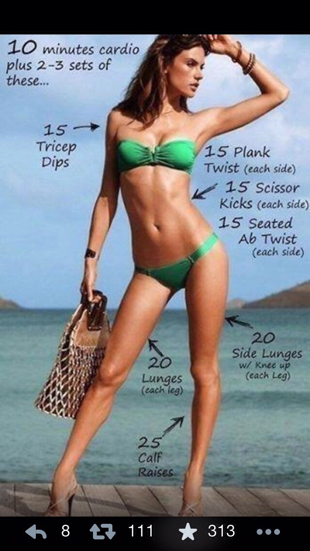 Quick Work Out To Tone Everything For The Perfect Summer Body