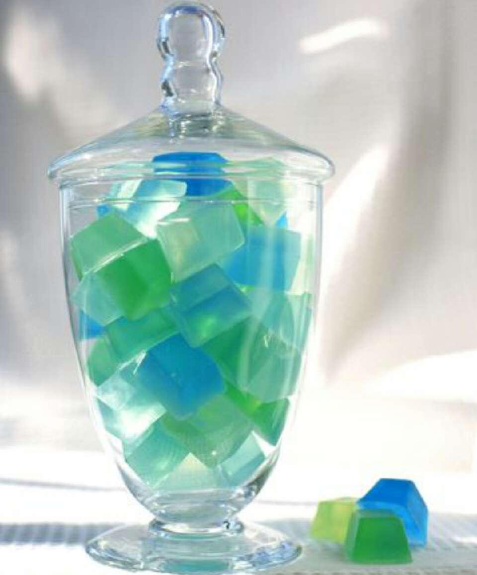 Diy Sea Glass Soap Cubes Trusper
