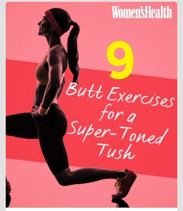 Tone Your Butt With These 9 Exercises!