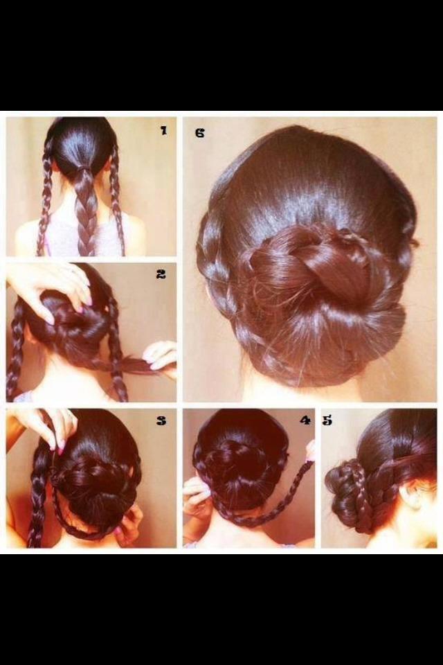 легкие прически на длинные густые волосы