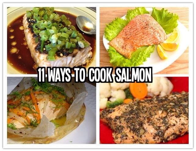 11 ways to cook salmon fish trusper for Ways to cook fish