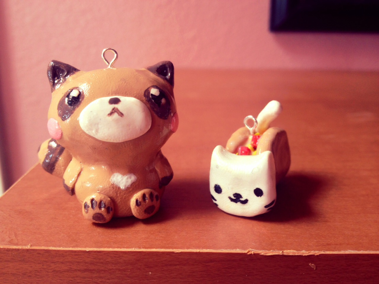 How to make cute keychains out of clay trusper for Cute things to make out of clay