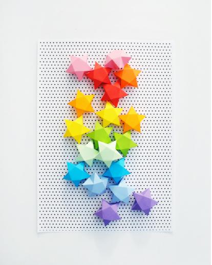 DIY Paper Stars Decorations!