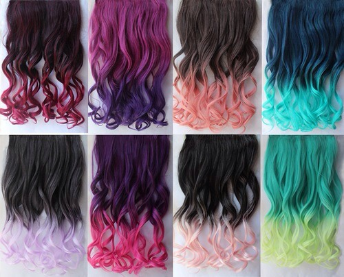 Thinking Of Dip Dying You Hair Here Are Some Ideas
