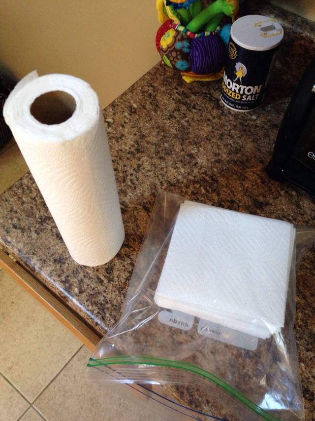 Make Your Own Baby Wipes. Much Healthier For Baby Than Name Brand. And Cheaper!