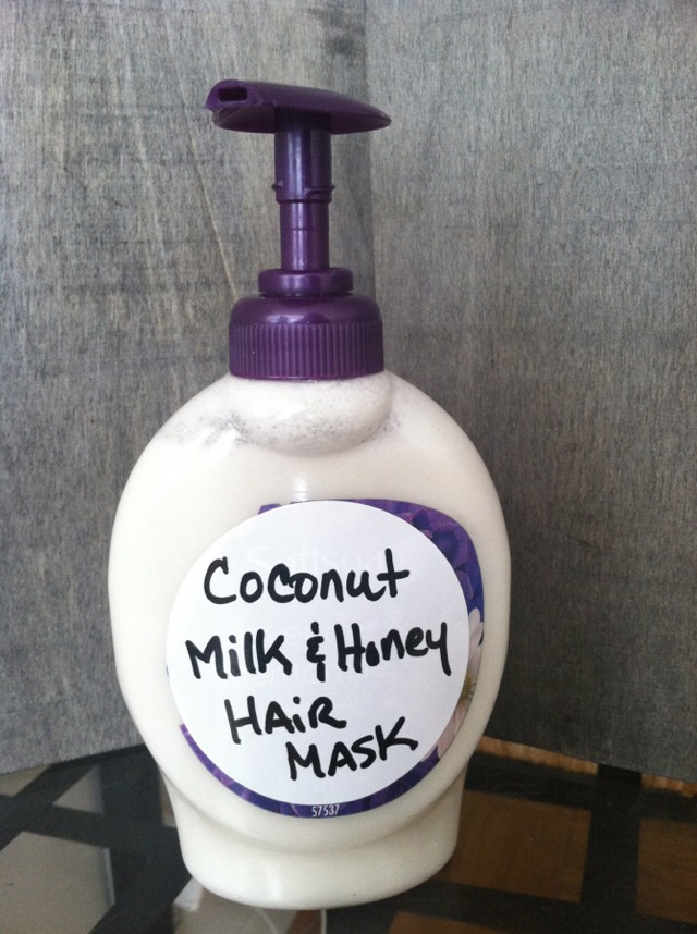 Coconut Milk & Honey Hair Mask For Hair Growth, Healthier Hair And To Stop Hairloss!👏