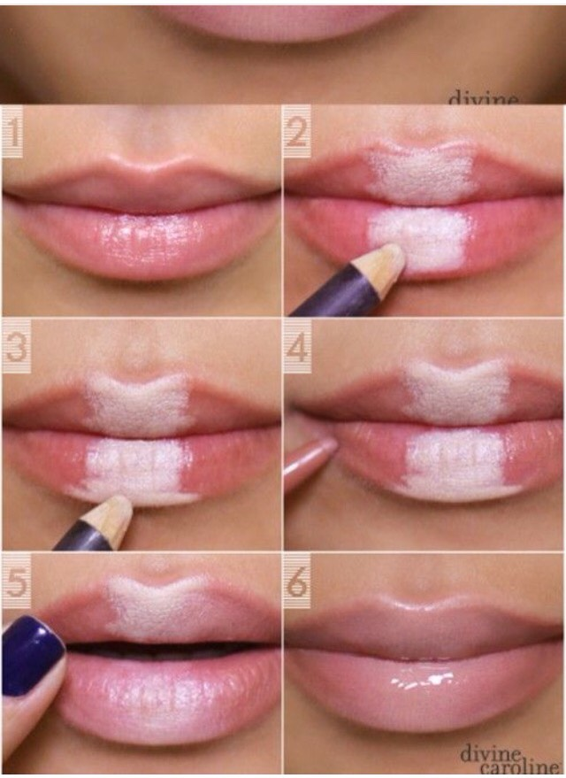 how to make your lips soft and plump