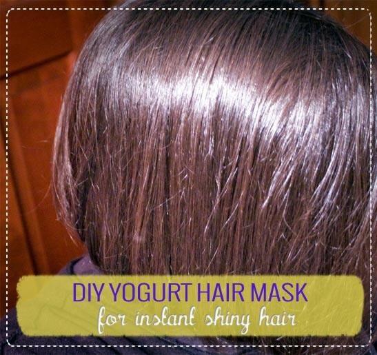 Yogurt Hair Mask For Instant Shiny Hair Trusper