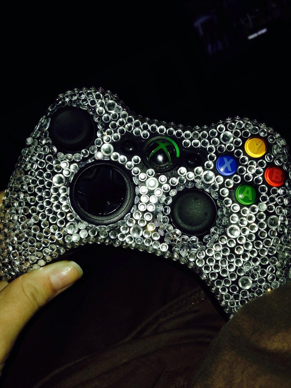 Xbox 360 Controller Diamond Diamonds On An ...
