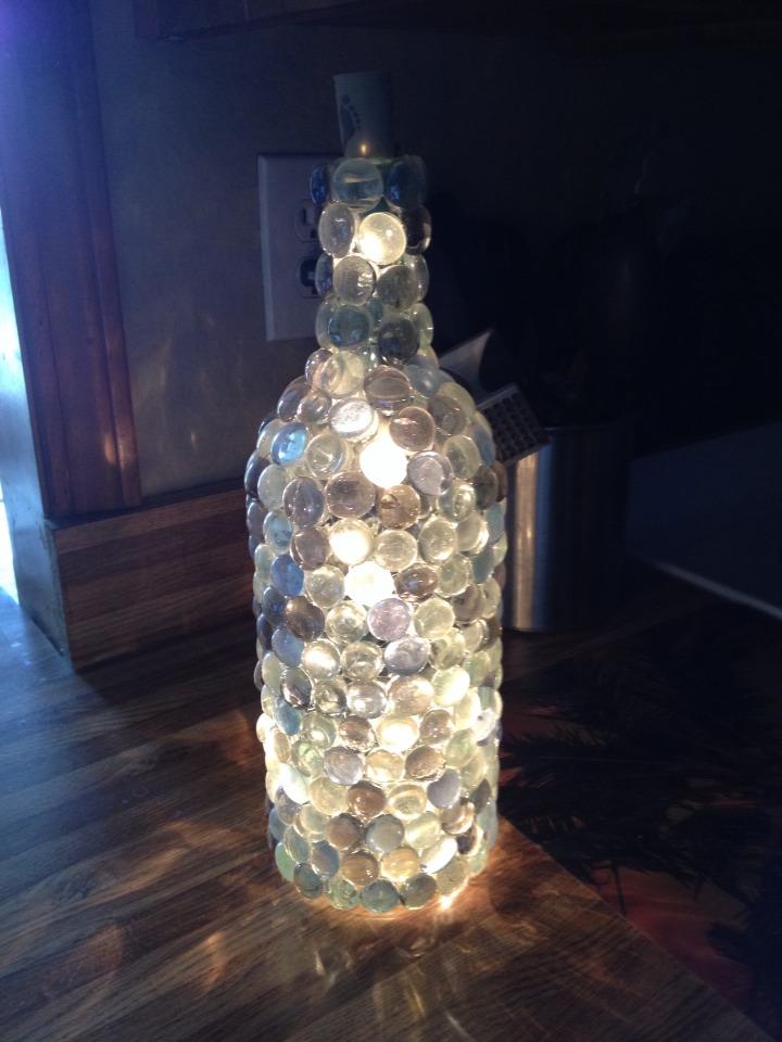 Diy Wine Bottle Lamp Trusper