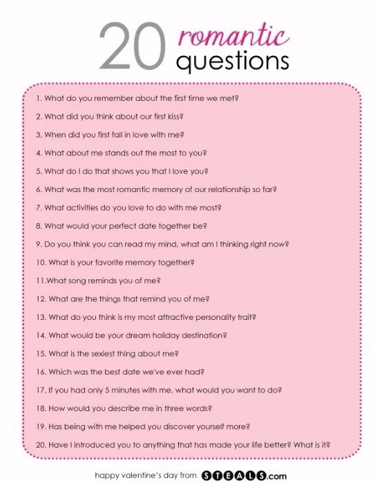20 flirty questions to ask your boyfriend Are these 20 questions not quite enough 136 questions to ask your boyfriend 100 questions to ask before you get married 10 flirty photos of women kissing.