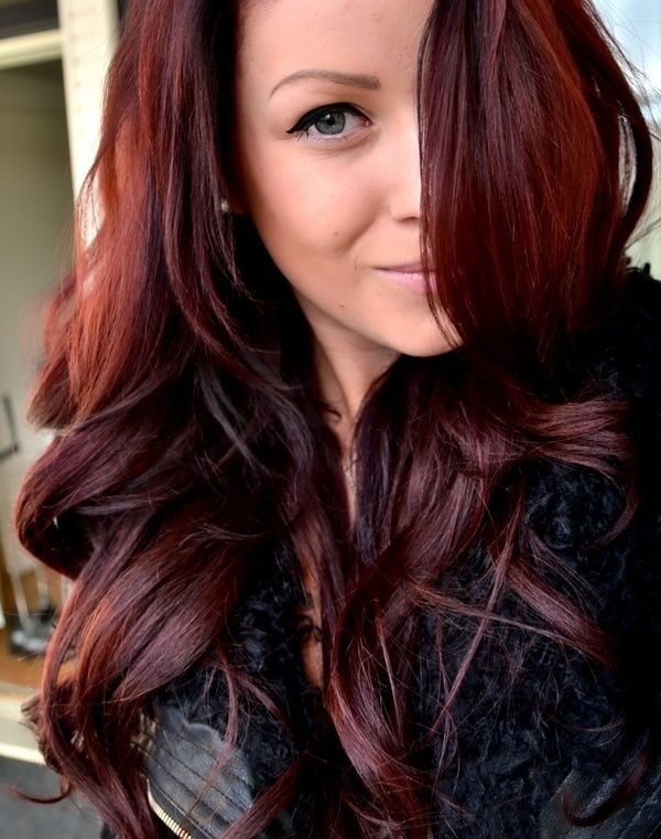 Cherry Cola Hair Color Cherry coke hair