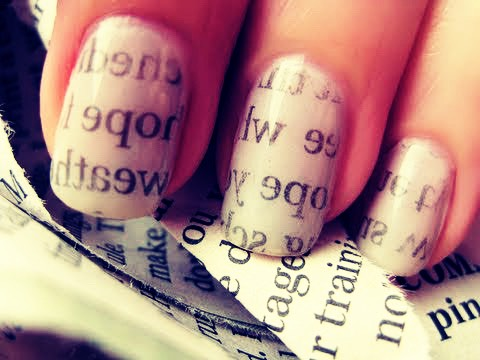 The Newspaper Nail Trick