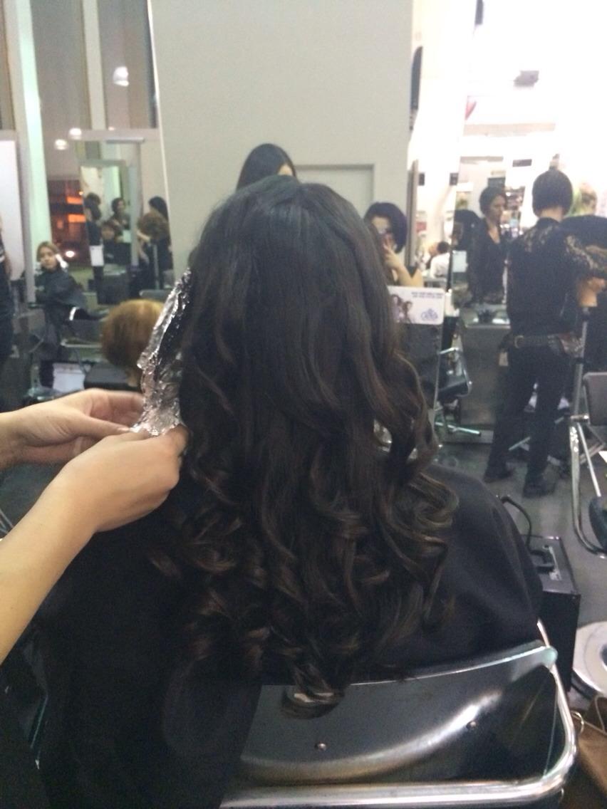 Beautiful Bouncy Curls With Straightener Trusper
