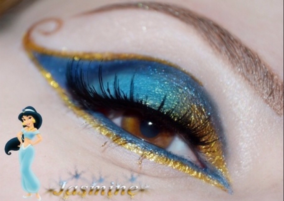 Disney Princess Inspired Eye Makeup