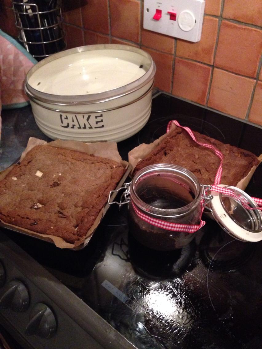 Chocolate Brownies Self Raising Flour Peanut Butter