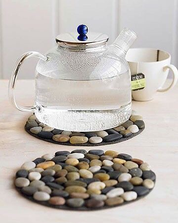 Super Easy Diy Stone Mat For Your Hot Pots And Pans!!!🌀