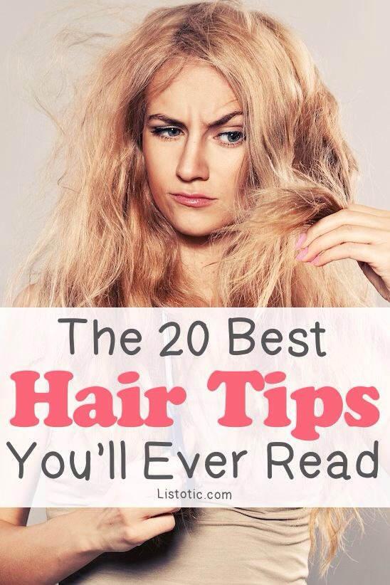 20 Of The Best Hair Tips