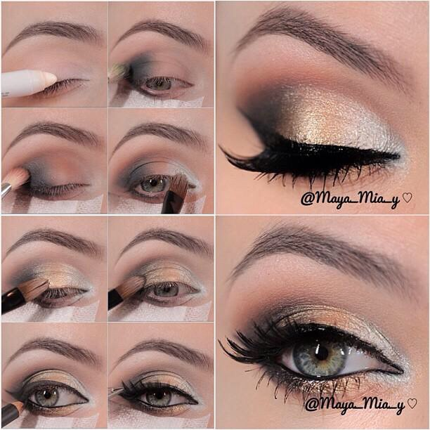 Awesome Eye Makeup Ideas With Tutorials!