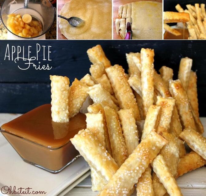 Apple Pie Fries. 😍