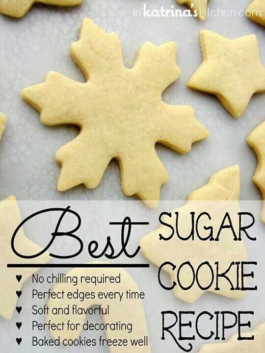 The Best Sugar Cookie Recipe No Chilling Required! #tipit