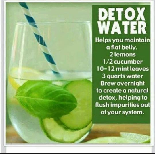 Flat belly diet drink