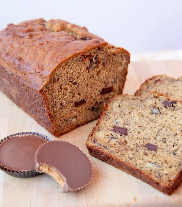DID YOU KNOW Best Banana Bread Ever: Peanut Butter Cup Banana Bread