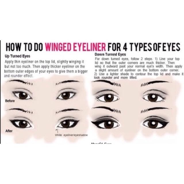 Eyeliner Tip🎀🌸