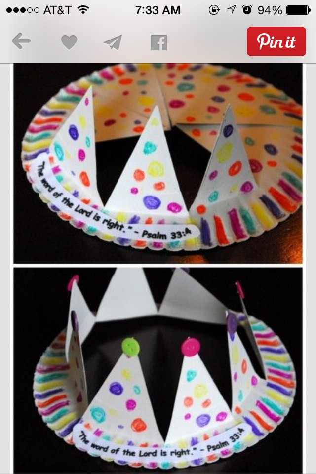 how to make a royal crown out of paper