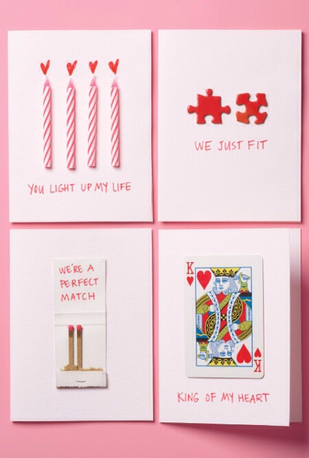 Cute diy valentine 39 s day cards trusper for Cute valentines day cards homemade