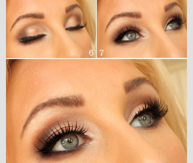 How to apply sexy eye makeup