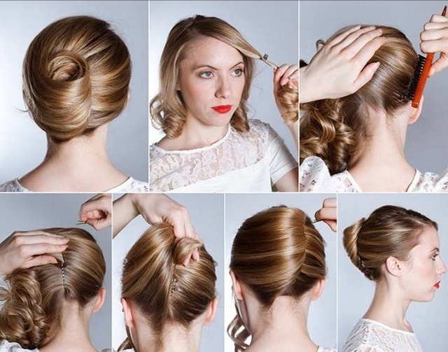 French Knot Hairstyle | Trusper