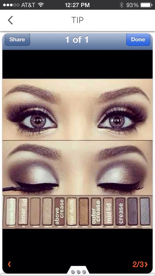 Eyeshadow For Brown Eyes!