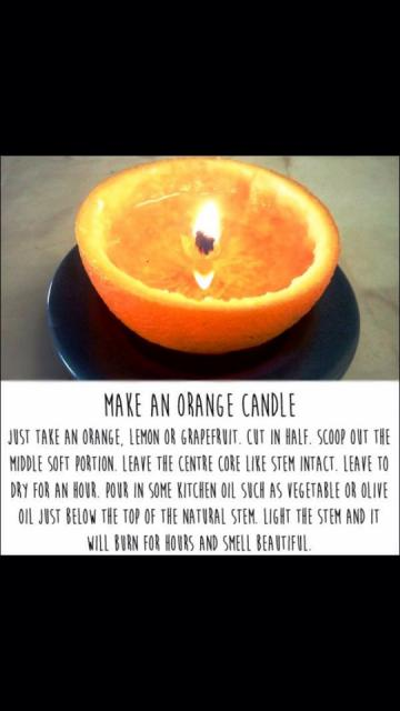 Orange Citrus Candle