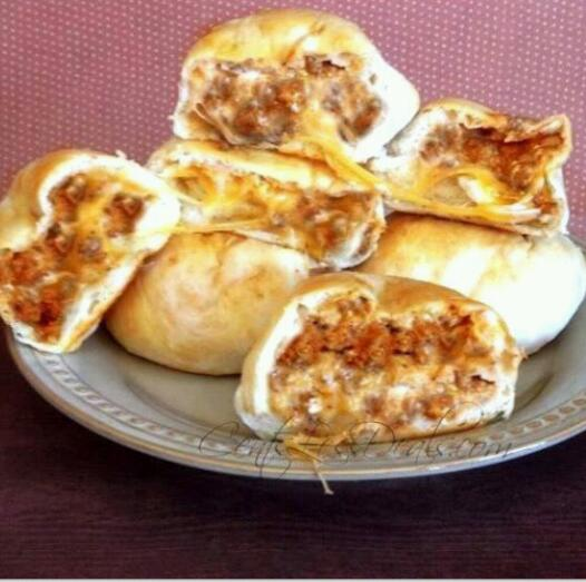 Cheesey Taco Buns