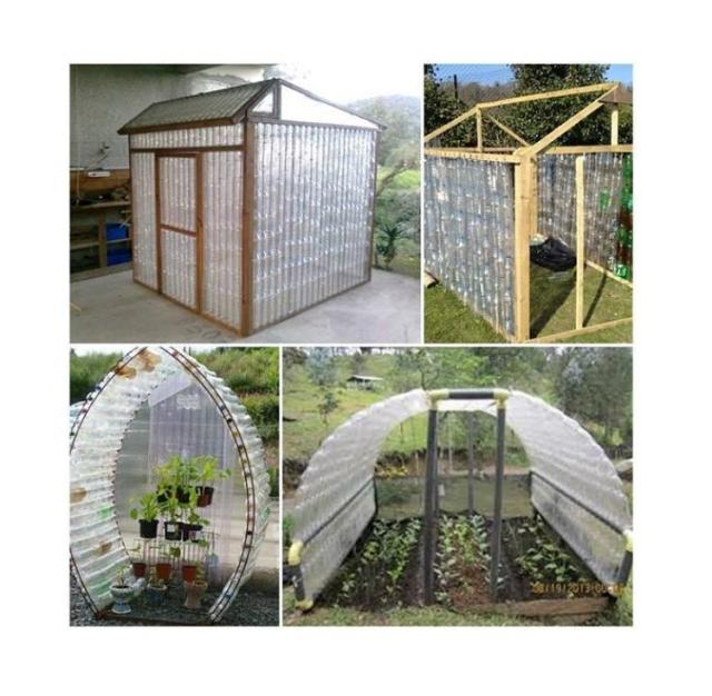 PLASTIC BOTTLE GREEN HOUSE BUILD GUIDE