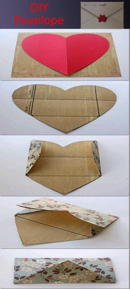 Make your own personalized envelopes cute trusper for Homemade envelopes