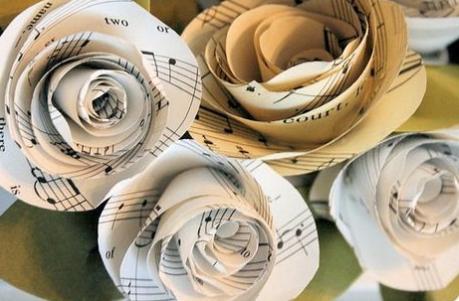 DIY Musical Note Roses!!!!