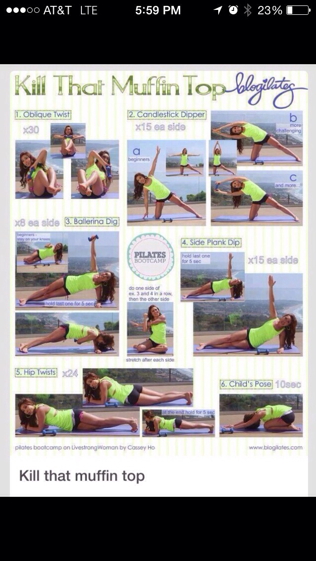 Foods To Get Rid Of Muffin Top