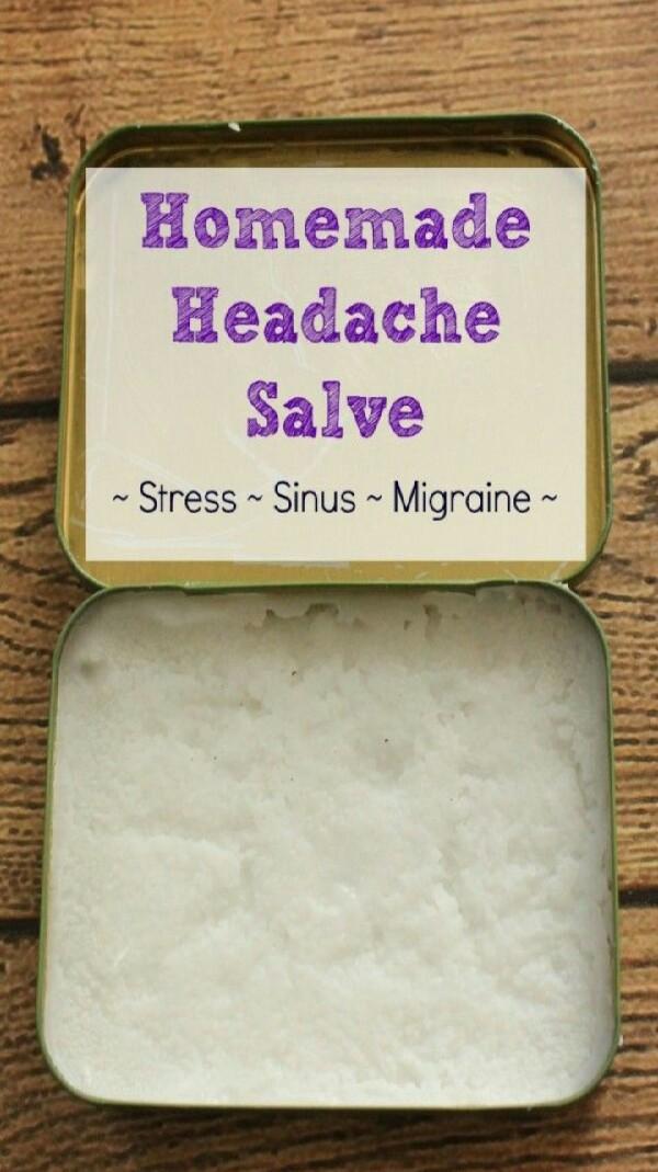 DIY Headache Balm!!