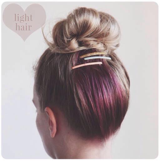 Cute Diy Hidden Color Hair 🌟💥 Trusper