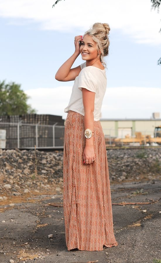 Your summer maxi can make a fall appearance! Choose a more ...
