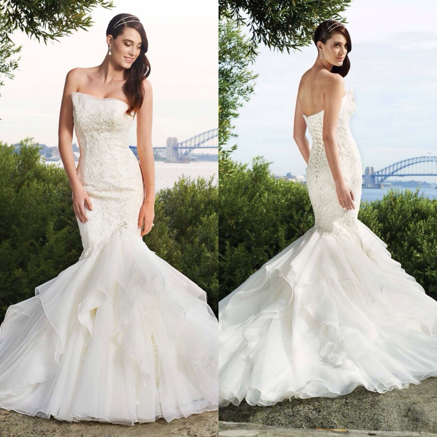 Country chic wedding gowns trusper for Country chic wedding dress