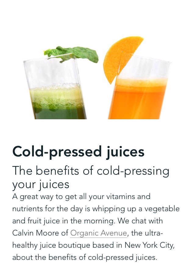 Slow Pressed Juice Benefits : Benefits of Cold-Pressed Juices???? Trusper