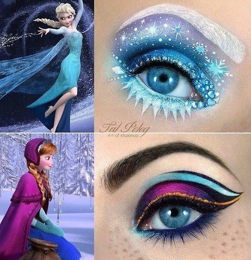 Disney's Frozen Makeup Ideas 💋