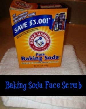 Baking Soda Face Scrub