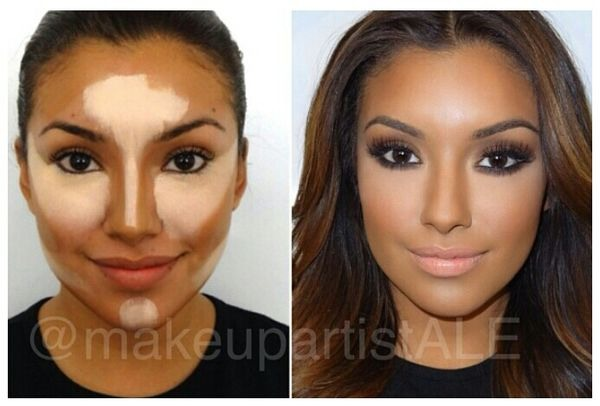 how to contour your nose to look wider