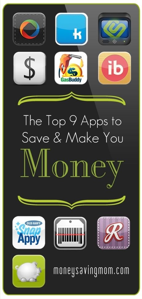 Top Apps That Saves You Money!!
