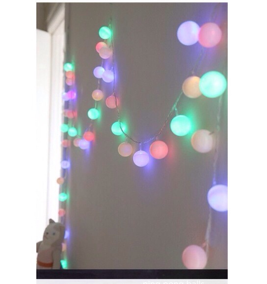 Want To Know How To Make These Cute Lights ?💛💙💜💚❤️ Super Easy ! 👐