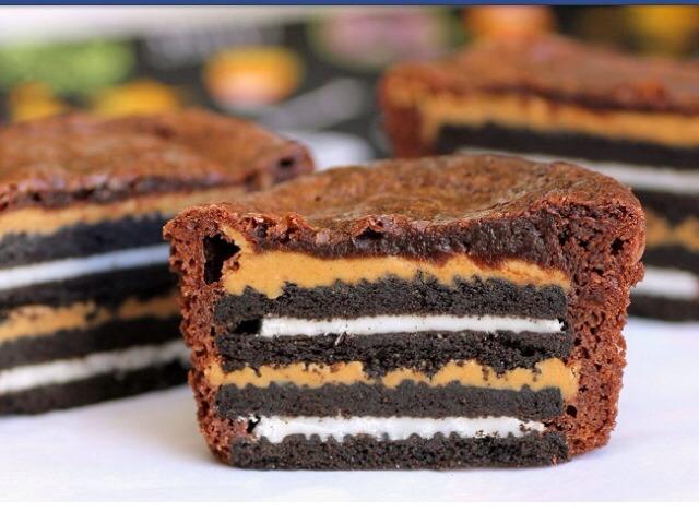 OREO PEANUT BUTTER BROWNIE CAKES Recipe (OK 2 Like 👍)   Trusper